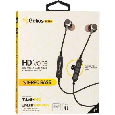 Bluetooth наушники Gelius Ultra T1v2-MC Red