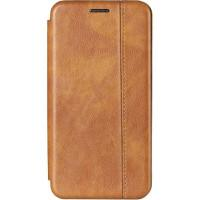 Чехол книжка Gelius Leather для Xiaomi Redmi 6a Gold