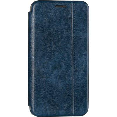 Чехол книжка Gelius Leather для Xiaomi Mi9 Blue