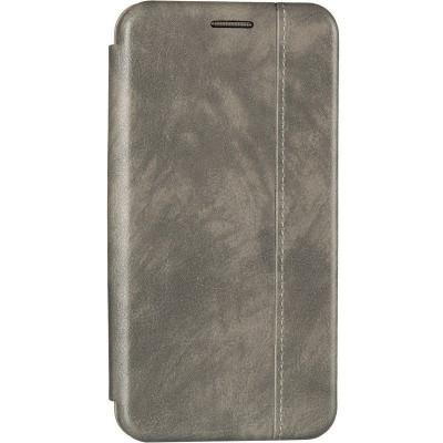 Чехол книжка Gelius Leather для Xiaomi Redmi Note 8 Grey