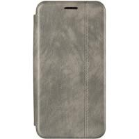 Чехол книжка Gelius Leather для Samsung J6 Plus (J610) Grey