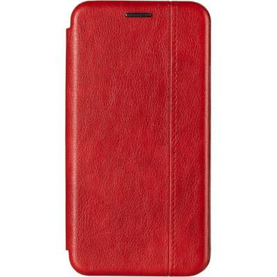 Чехол книжка Gelius Leather для Xiaomi Redmi 8a Red
