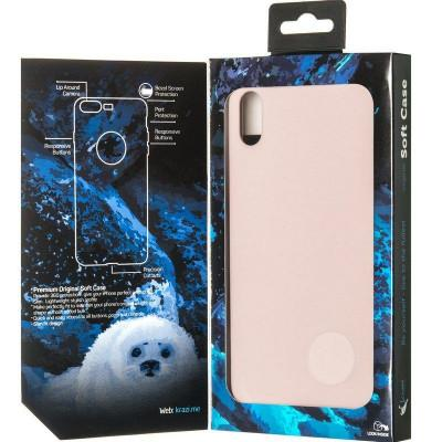 Чехол Krazi Soft Case for iPhone XS Max Pink Sand