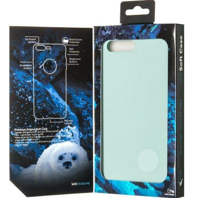 Чехол Soft Case for iPhone 7 Plus/8 Plus Marina Green