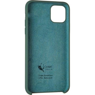 Чехол Krazi Soft Case for iPhone 11 Pro Max Pine Green