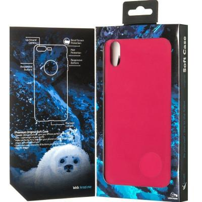 Чехол Krazi Soft Case for iPhone XS Max Rose Red