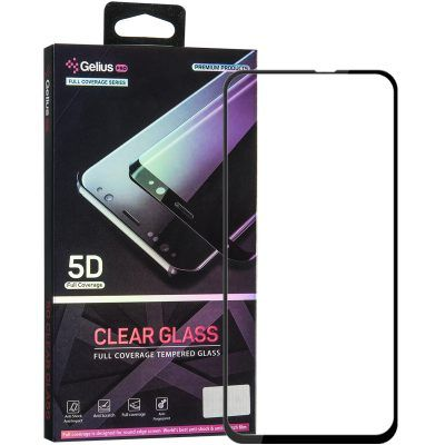 Защитное стекло Gelius Pro 5D Clear Glass for Samsung A60 (A606) Black